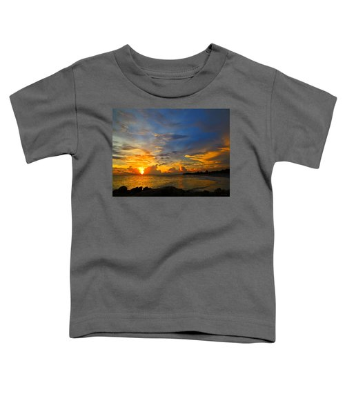 Sunset In Paradise - Beach Photography By Sharon Cummings Toddler T-Shirt
