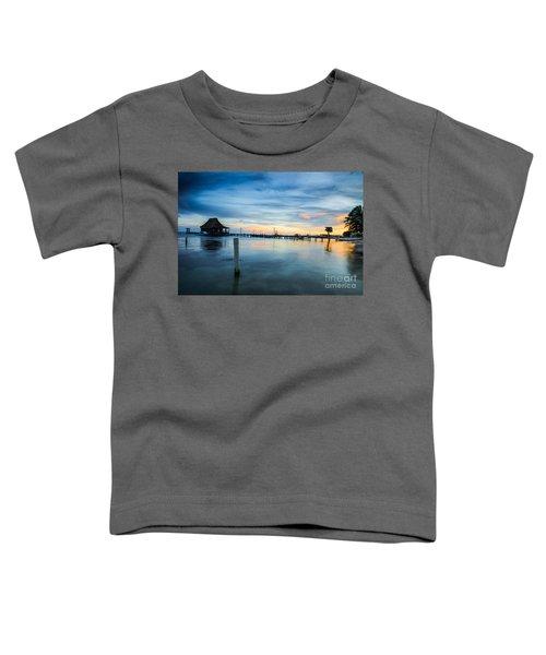 Sunset In San Pedro Toddler T-Shirt