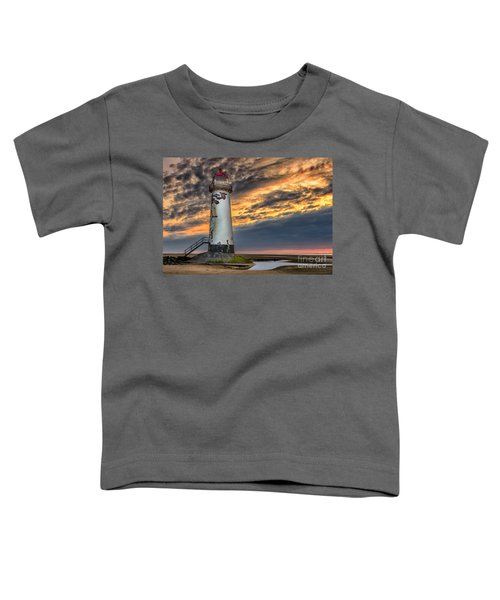 Sunset Lighthouse Toddler T-Shirt