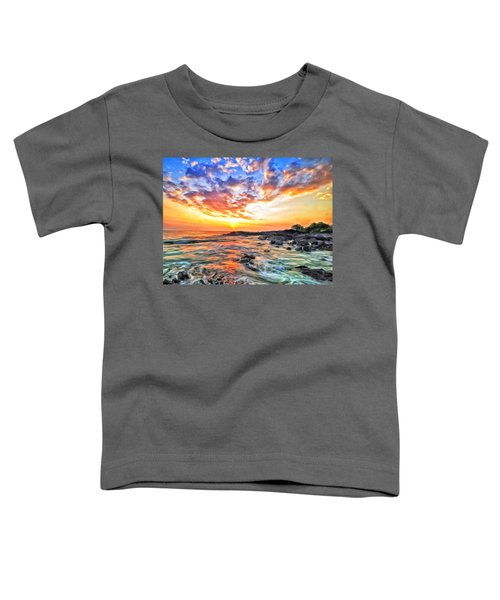 Sunset Near Old Kona Airport Toddler T-Shirt