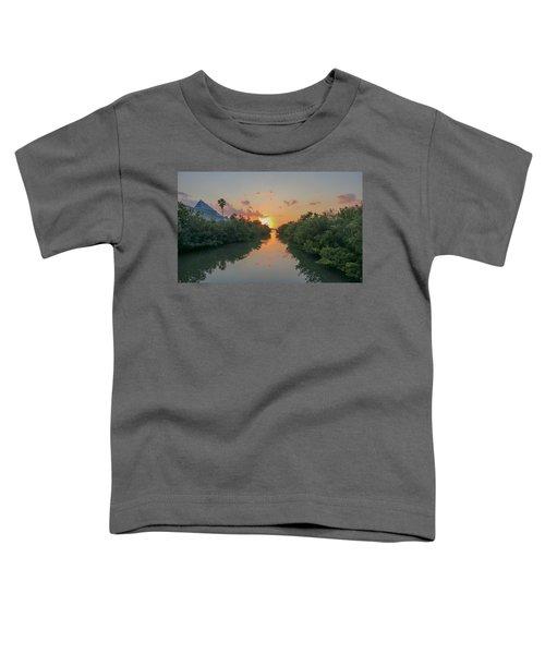 Sunset On Sarasota Bay Toddler T-Shirt