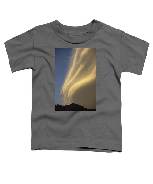 Sunset On Storm Clouds Near Mt Cook Toddler T-Shirt