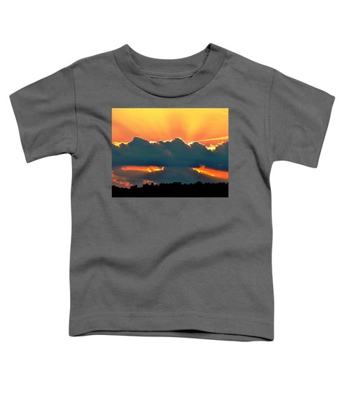 Sunset Over Southern Ohio Toddler T-Shirt