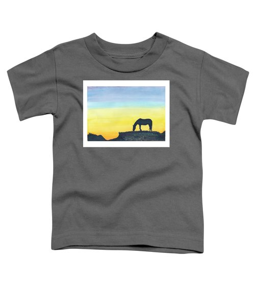 Sunset Silhouette Toddler T-Shirt