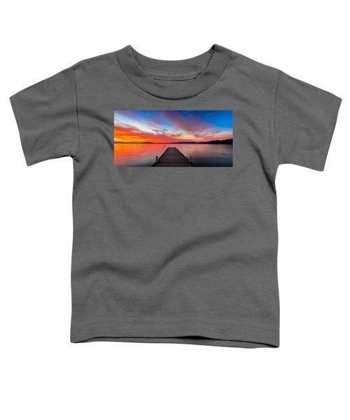 Sunset Walkway Toddler T-Shirt