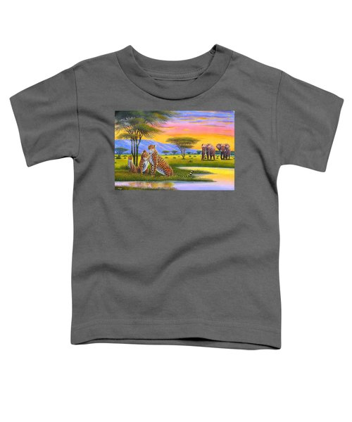 Sunset Watch Toddler T-Shirt