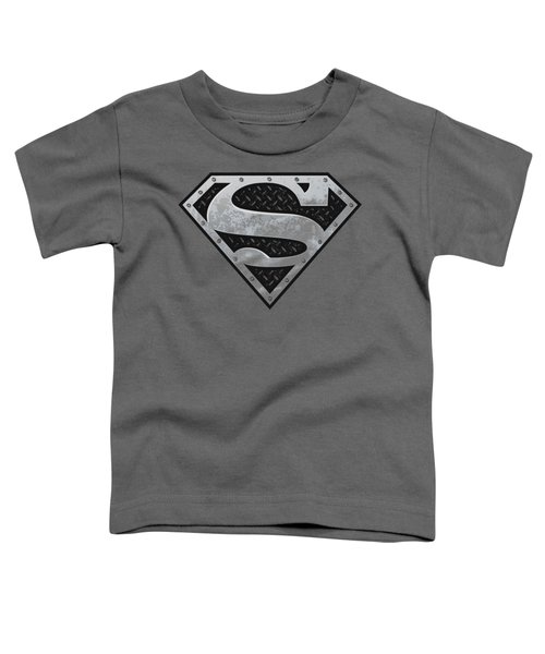 Superman - Super Metallic Shield Toddler T-Shirt