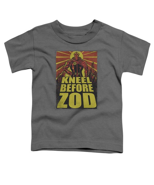 Superman - Zod Poster Toddler T-Shirt