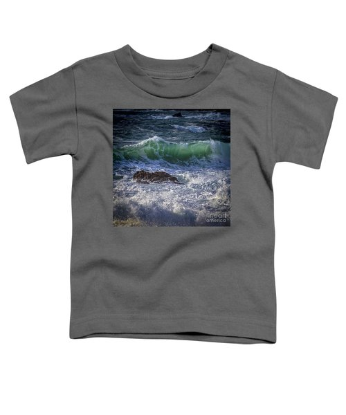 Swells In Doninos Beach Galicia Spain Toddler T-Shirt