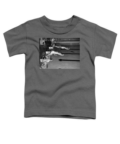 Swimming Race Start Toddler T-Shirt