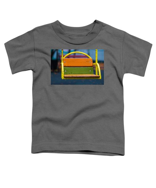 Swinging Rain - Featured 3 Toddler T-Shirt