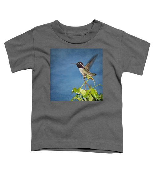 Taking Flight Toddler T-Shirt by Peggy Hughes