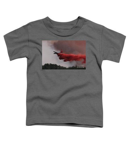 Tanker 07 Drops On The Myrtle Fire Toddler T-Shirt