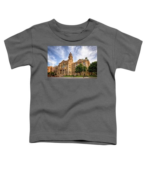 Tarrant County Courthouse II Toddler T-Shirt
