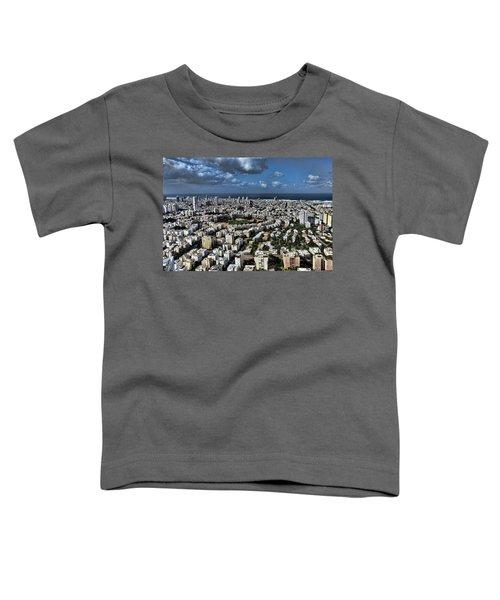 Tel Aviv Center Toddler T-Shirt