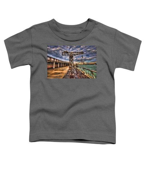 Tel Aviv Port At Winter Time Toddler T-Shirt