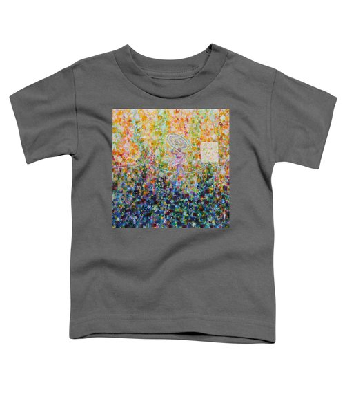 Temple Dance-tightrope  Toddler T-Shirt