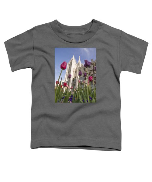 Temple Tulips Toddler T-Shirt