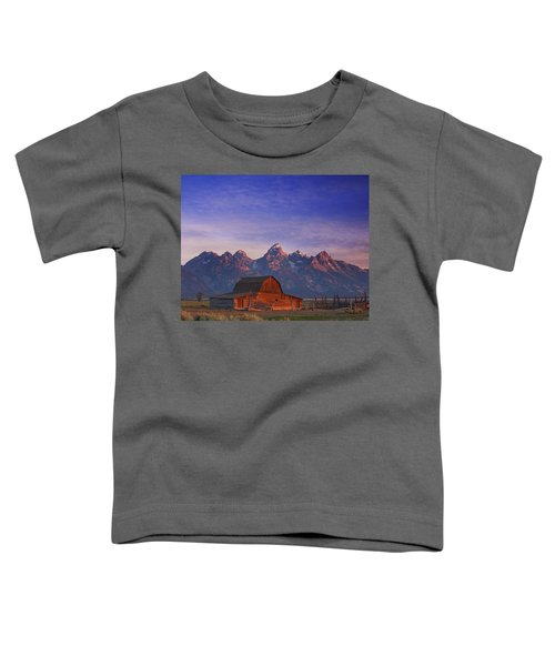 Teton Sunrise Toddler T-Shirt