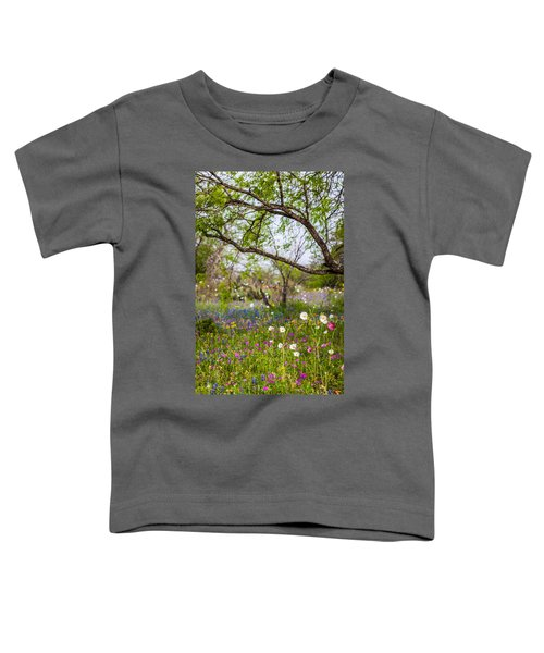 Texas Roadside Wildflowers 732 Toddler T-Shirt