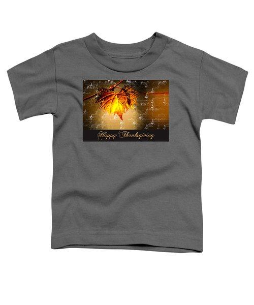 Thanksgiving Card Toddler T-Shirt