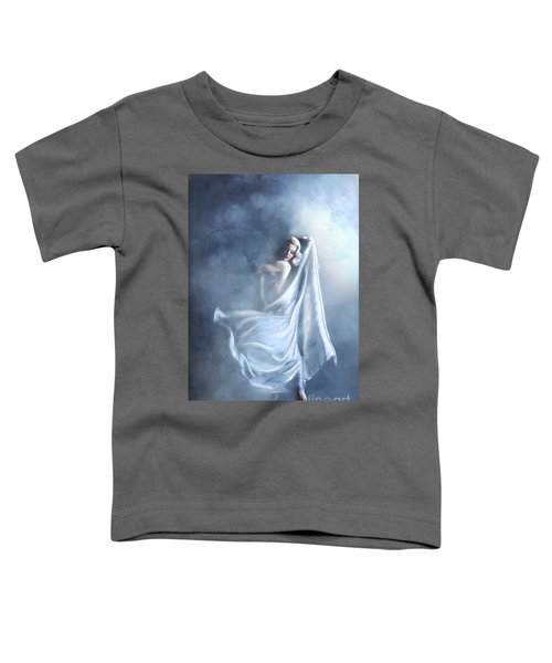 Toddler T-Shirt featuring the digital art That Single Fleeting Moment When You Feel Alive by Linda Lees