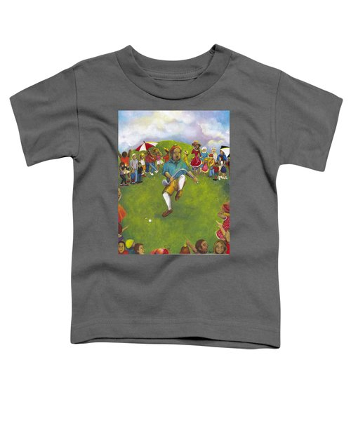 The Angry Golfer  Toddler T-Shirt