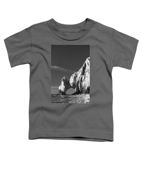 The Arch In Black And White Toddler T-Shirt