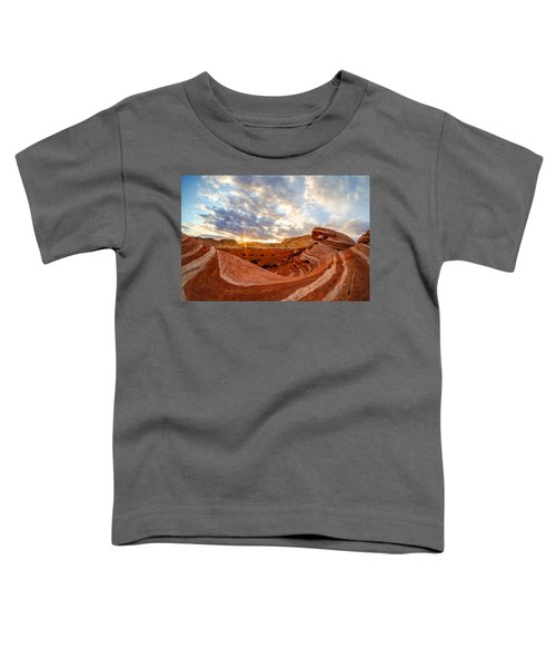 The Bacon Wave Toddler T-Shirt