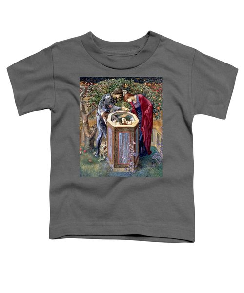 The Baleful Head, C.1876 Toddler T-Shirt by Sir Edward Coley Burne-Jones