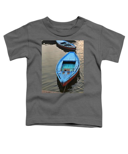 The Blue Boat Toddler T-Shirt