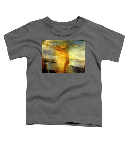 The Burning Of The Houses Of Lords And Commons Toddler T-Shirt