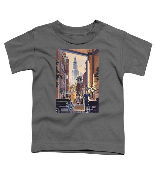 The Chrysler Toddler T-Shirt by Michael Young