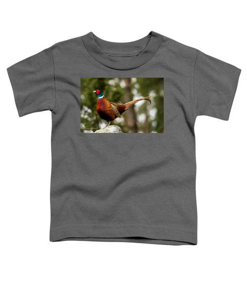 The Cock On Top Of The Rock Toddler T-Shirt