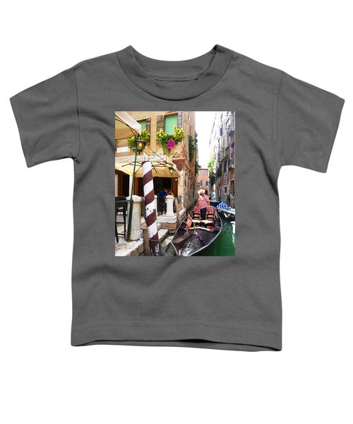 The Colors Of Venice Toddler T-Shirt