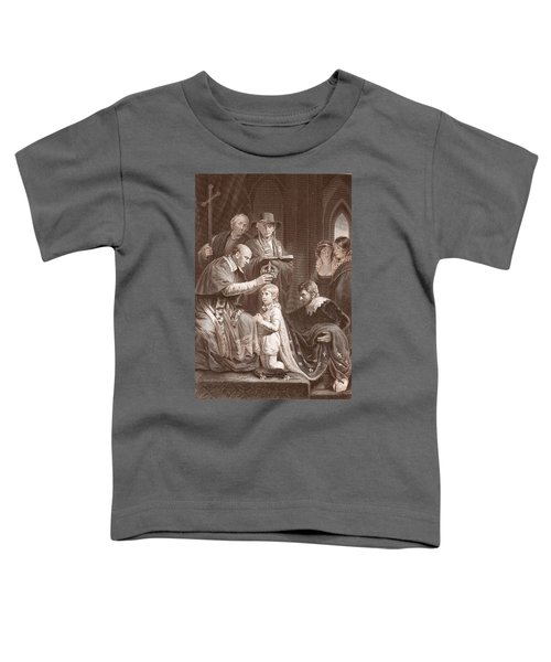 The Coronation Of Henry Vi, Engraved Toddler T-Shirt