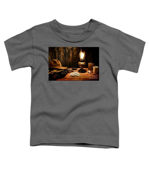 The Cowboy Nightstand Toddler T-Shirt