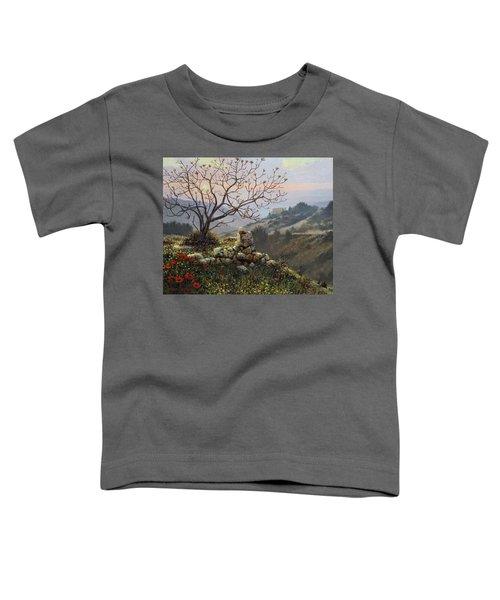 The Fig Tree   Mt Carmel Toddler T-Shirt
