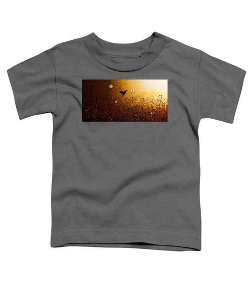 The Flight Of A Hummingbird Toddler T-Shirt