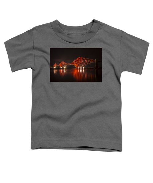 The Forth Bridge By Night Toddler T-Shirt