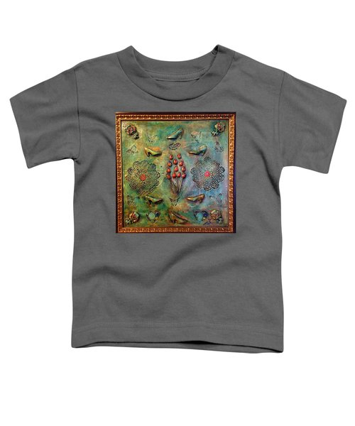 The Gift By Alfredo Garcia Art Toddler T-Shirt