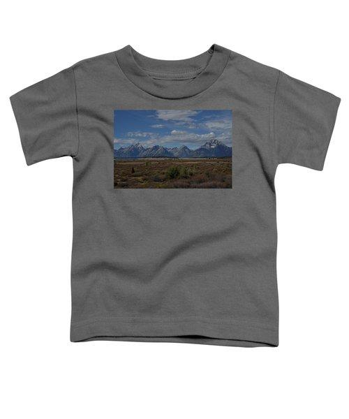 The Grand Tetons Toddler T-Shirt