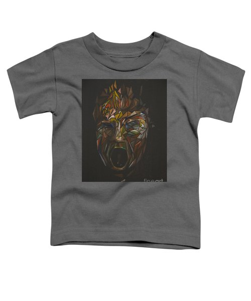 The Head Of Goliath - After Caravaggio Toddler T-Shirt