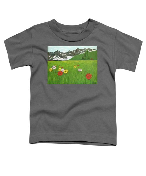 The Hills Are Alive With The Sound Of Music Toddler T-Shirt