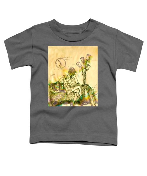 The Hold Up Sepia Tone Toddler T-Shirt