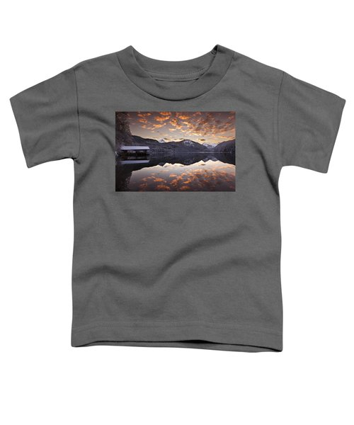 The Hut By The Lake Toddler T-Shirt