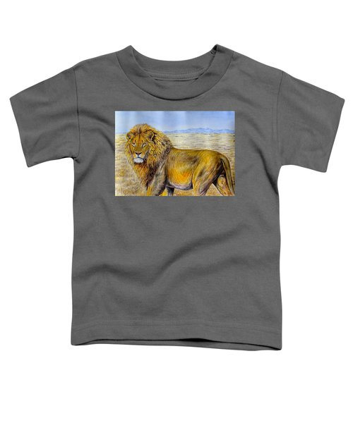 The Lion Rules Toddler T-Shirt