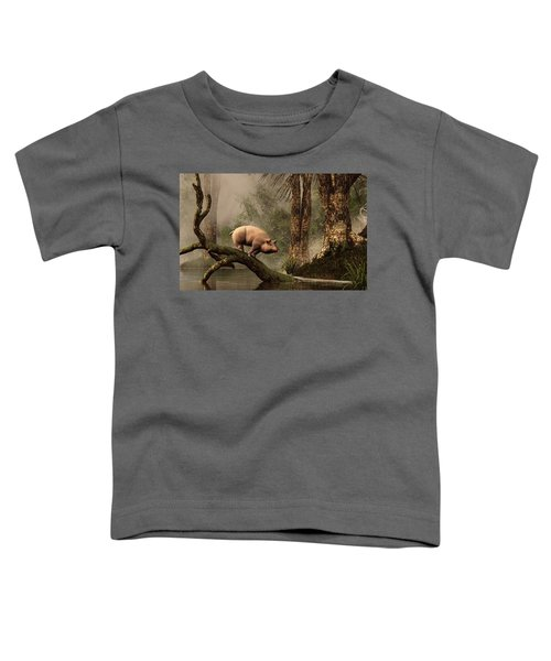 The Lost Pig Toddler T-Shirt