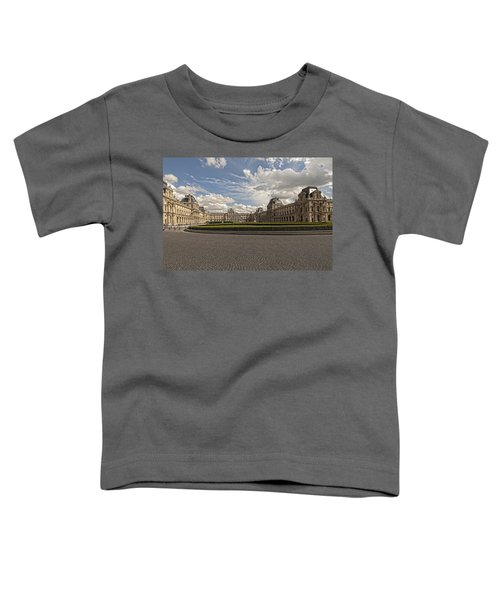 The Louvre Toddler T-Shirt