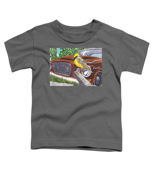 The Meadowlarks Toddler T-Shirt by Catherine G McElroy